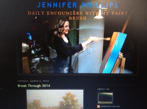 Jennifer Phillips' Art Blog