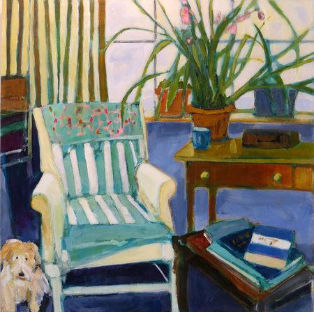 """Studio Mate"" by Lisa Snow Lady"